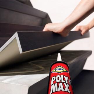 Bostik Polymax Original Express Sigillante e Adesivo con Applicatore - Tubo da 425g