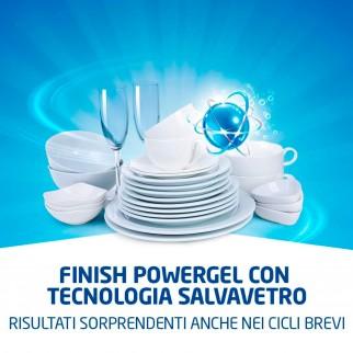 Finish PowerGel Tutto in 1 Max per Lavastoviglie - Flacone da 650ml