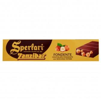 Sperlari Torrone Zanzibar Cioccolato Fondente e Nocciole Intere Senza Glutine da 250g