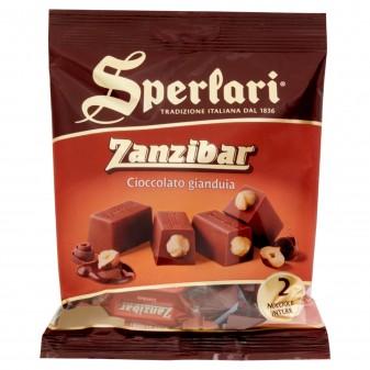 Sperlari Torroncini Zanzibar Cioccolato e Gianduia Busta da 117g