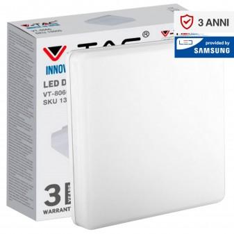 V-Tac VT-8066 SQ Plafoniera LED Quadrata 25W - SKU 13959 / 13969 / 13979