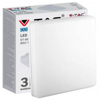 V-Tac VT-8033 SQ Plafoniera LED Quadrata 15W - SKU 13909 / 55679 / 13919
