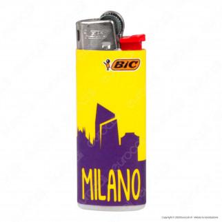 Bic Mini J25 Piccolo Fantasia Milan 2 - Box da 50 Accendini