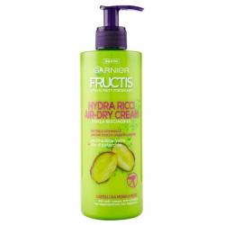 Garnier Fructis Style Hydra Ricci Air-Dry Cream Trattamento senza Risciacquo per Capelli - Flacone da 400ml
