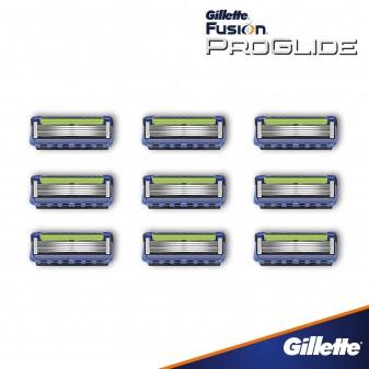 Gillette Fusion ProGlide Lamette di Ricambio per Rasoio Maxi Formato Risparmio - Confezione da 9 Ricariche