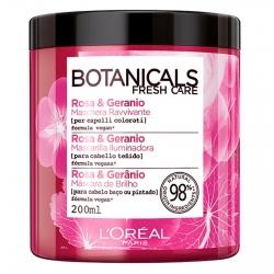 L'Oréal Paris Botanicals Fresh Care Maschera Ravvivante con Rosa e Geranio - Barattolo da 200ml