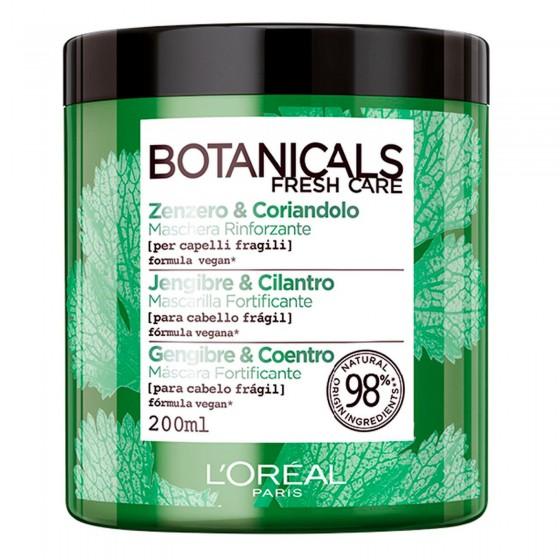 L'Oréal Paris Botanicals Fresh Care Maschera Rinforzante con Zenzero e Coriandolo - Barattolo da 200ml