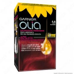 Garnier Olia Tinta Permanente per Capelli 4.6 Rosso Profondo Senza Ammoniaca