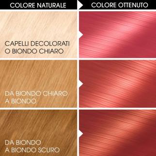 Garnier Olia Bold Tinta Permanente per Capelli 7.22 Rosa Profondo Senza Ammoniaca
