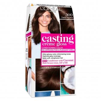 L'Oréal Casting Crème Gloss Tattamento Colorante 300 Castano Scuro Senza Ammoniaca