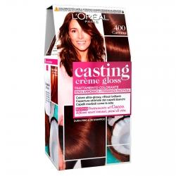 L'Oréal Casting Crème Gloss Tattamento Colorante 400 Castano Senza Ammoniaca