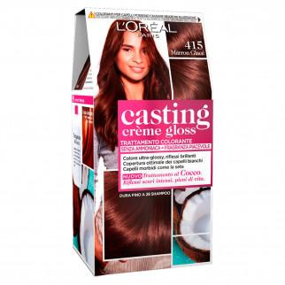 L'Oréal Casting Crème Gloss Tattamento Colorante 415 Marron Glacé Senza Ammoniaca