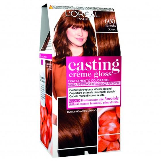 L'Oréal Casting Crème Gloss Tattamento Colorante 600 Biondo Scuro Senza Ammoniaca