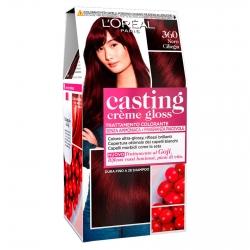 L'Oréal Casting Crème Gloss Tattamento Colorante 360 Nero Ciliegia Senza Ammoniaca