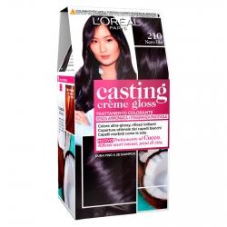 L'Oréal Casting Crème Gloss Tattamento Colorante 210 Nero Blu Senza Ammoniaca