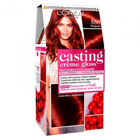 L'Oréal Casting Crème Gloss Tattamento Colorante 550 Mogano Senza Ammoniaca