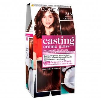 L'Oréal Casting Crème Gloss Tattamento Colorante 515 Marron Chocolat Senza Ammoniaca