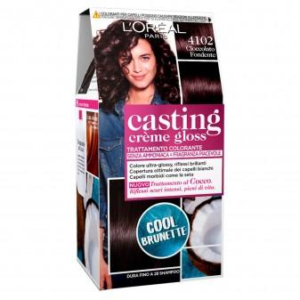 L'Oréal Casting Crème Gloss Tattamento Colorante 4102 Cioccolata Fondente Senza Ammoniaca