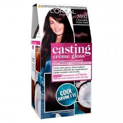 L'Oréal Casting Crème Gloss Tattamento Colorante 3102 Cioccolato Extra Dark Senza Ammoniaca