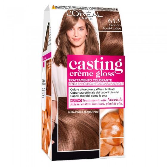 L'Oréal Casting Crème Gloss Tattamento Colorante 613 Biondo Iced Coffee Senza Ammoniaca