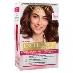 L'Oréal Paris Excellence Colorazione Permanente 5.15 Marron Glace Triplo Trattamento