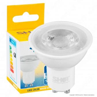 Bot Lighting Shot Lampadina LED GU10 6,5W Faretto Spotlight 36° 3000K - mod. SLD630732BB