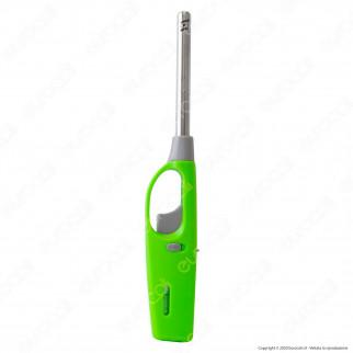 Atomic BBQ Lighter Softflame Accendigas Multiuso Maxi Elettronico Ricaricabile - Box da 20 Accendini