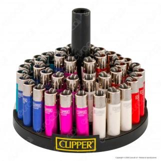 Clipper Micro Fantasia Painted 2 Gradient - Box da 48 Accendini