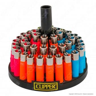 Clipper Micro Fantasia Painted 2 Soft Touch - Box da 48 Accendini