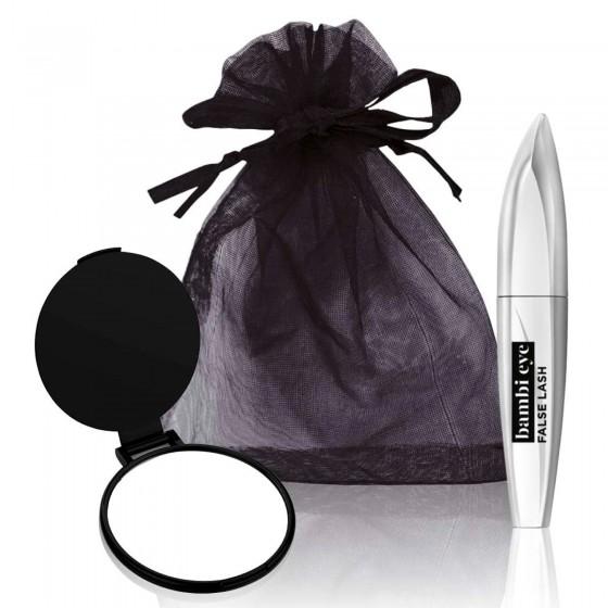 L'Oréal Paris Miss Bambi Eye False Lash Mascara Nero per Occhi da Cerbiatta con Specchietto