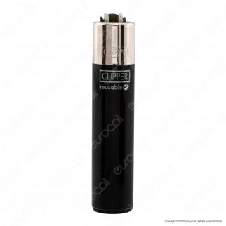Clipper Micro Fantasia Solid Mix Brand Tinta Unita - Box da 48 Accendini