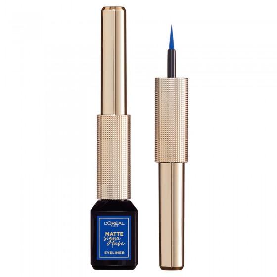 L'Oréal Paris Matte Signature Eyliner Blu Waterproof
