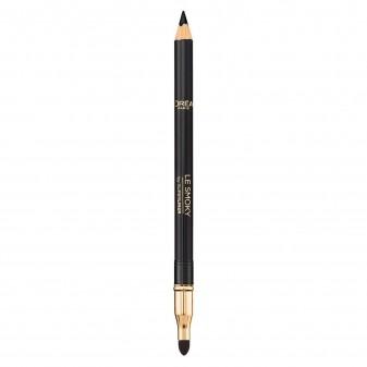 L'Oréal Paris Superliner Le Smoky 201 Black Velour Matita Versatile per gli Occhi
