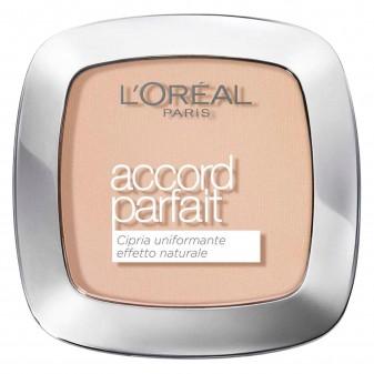 L'Oréal Paris Accord Parfait Cipria 2R Vanille Rosé - Confezione da 1 pezzo