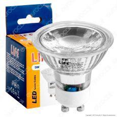 Life PAR16 Lampadina LED GU10 5W Faretto Spotlight COB in Vetro
