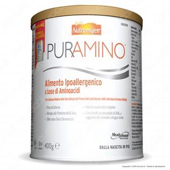 Nutramigen Puramino Formula Ipoallergenica per Bambini con Forme Gravi di Allergia alle Proteine del Latte - Barattolo da 400g