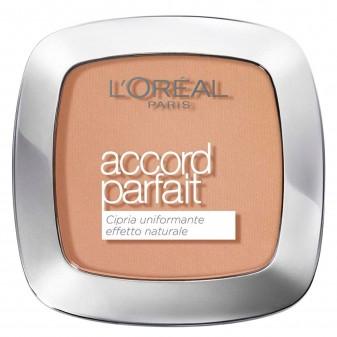 L'Oréal Paris Accord Parfait Cipria 6.5 D / 6.5 W Caramel Dorè - Confezione da 1 pezzo