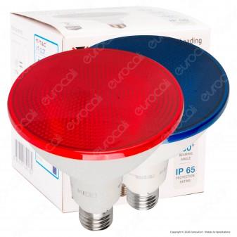 V-Tac VT-1227 Lampadina LED E27 17W Bulb PAR38 Impermeabile IP65 - SKU 92065 / 92066