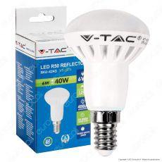 V-Tac VT-1876 Lampadina LED E14 6W Bulb Reflector R50