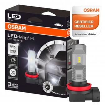 Osram LEDriving Fog Lamp Fari LED Antinebbia 8,2W - 2 Lampadine Retrofit Attacco Compatibile con H8 / H11 / H16