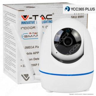 V-Tac VT-5156 Telecamera di Sorveglianza Wifi IP PTZ 3MP - SKU 8986