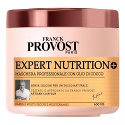 Franck Provost Expert Nutrition+ Maschera Professionale per Capelli Molto Secchi con Burro di Karité e Olio di Cocco