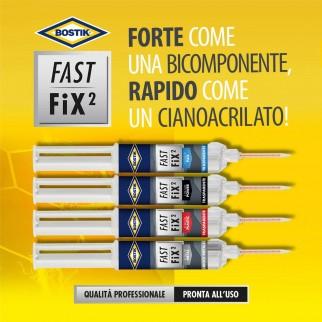 Bostik Fast Fix²Liquid Flex Adesivo per Materiali Flessibili - Flacone da 10g