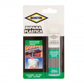 Bostik Ripara Plastica Stucco Epossidico - Blister da 56g