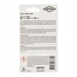 Bostik Ripara Legno Stucco Epossidico - Blister da 56g