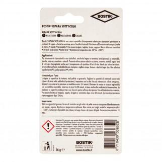 Bostik Ripara Metallo Stucco Epossidico - Blister da 56g