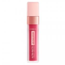 L'Oréal Paris Les Macarons Ultra Matte Liquid Lipstick Tinta Labbra Colore 820 Praline del Paris Profumo Confetto alla Mandorla
