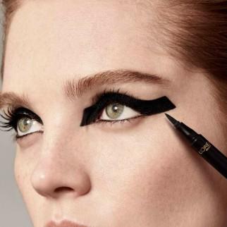 L'Oréal Paris Eyeliner in Penna Tattoo Signature Superliner Waterproof e Lunga Tenuta Extra Nero