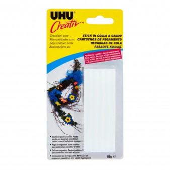 UHU Creativ' Stick di Colla a Caldo a Bassa Temperatura - Confezione con 15 Stick