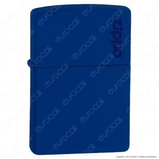 Accendino Zippo Mod. 229-ZL Royal Blu Matte - Ricaricabile Antivento